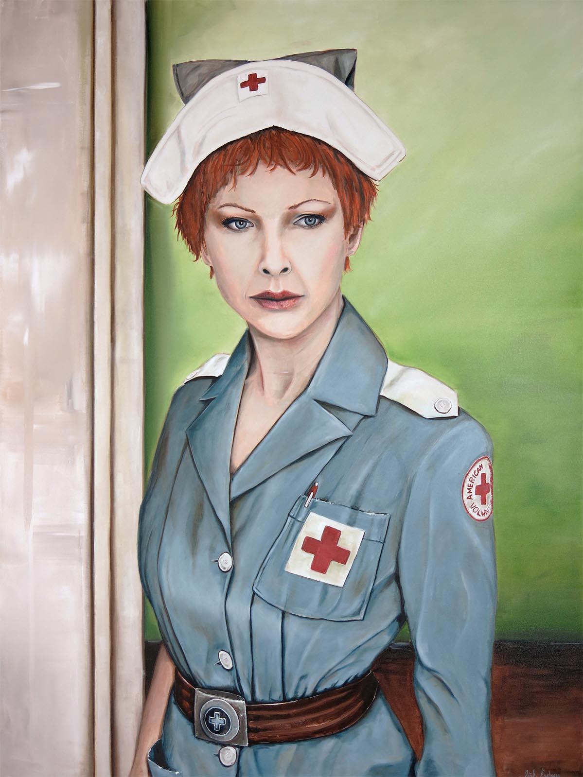 1 - American Voluntary - 160 x 120 Öl auf Leinwand 2014