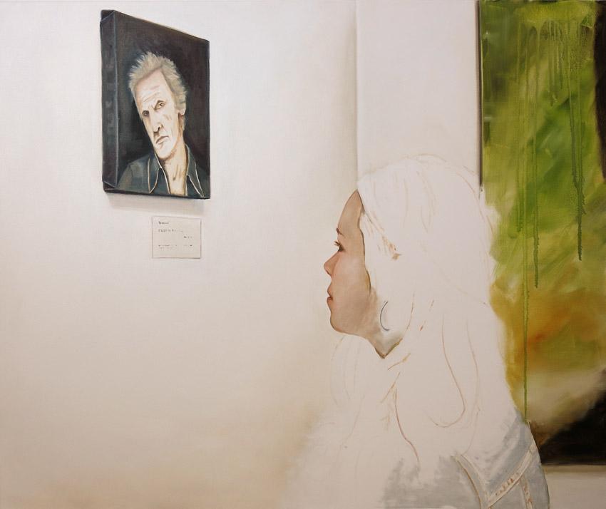 Begegnung - 120 x 100 cm Öl auf Leinwand 2014k