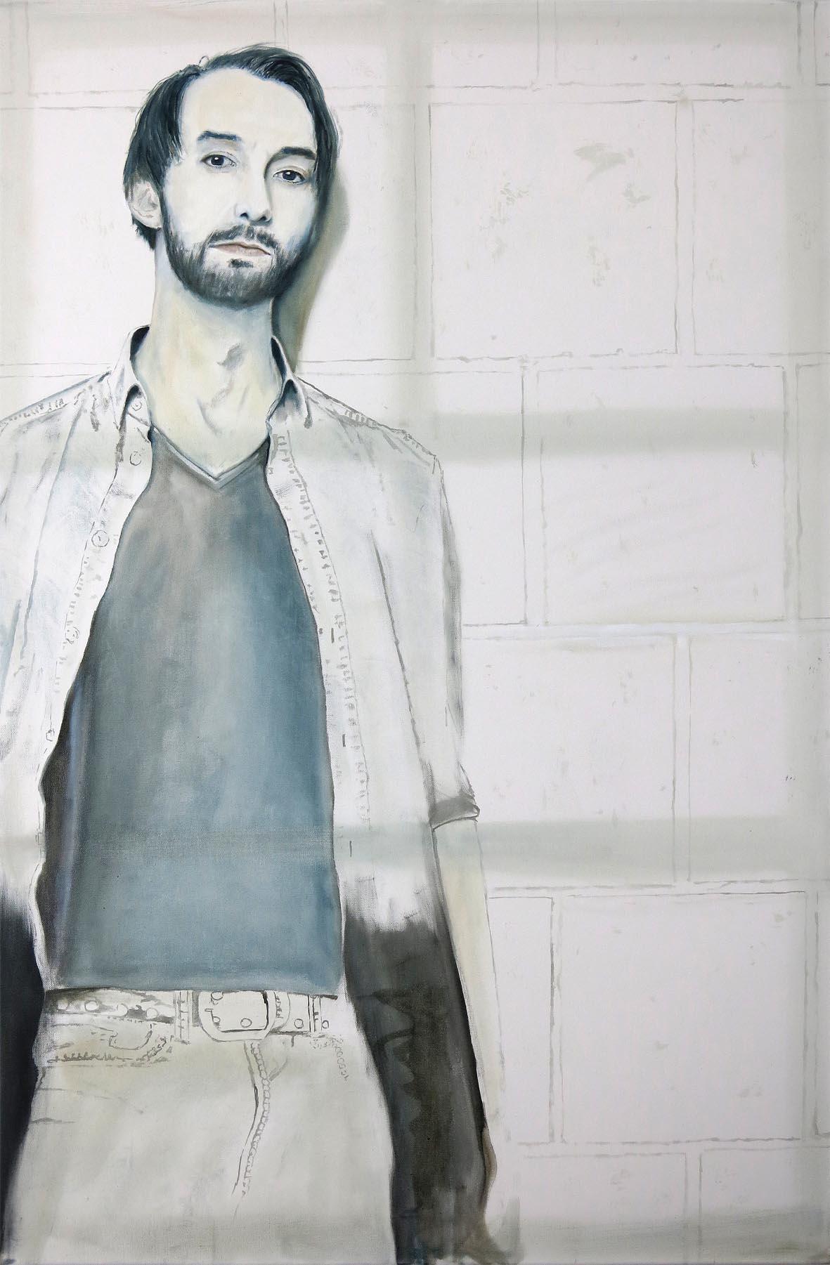 Dominik 120 x 80 cm Öl auf Leinwand 2014k