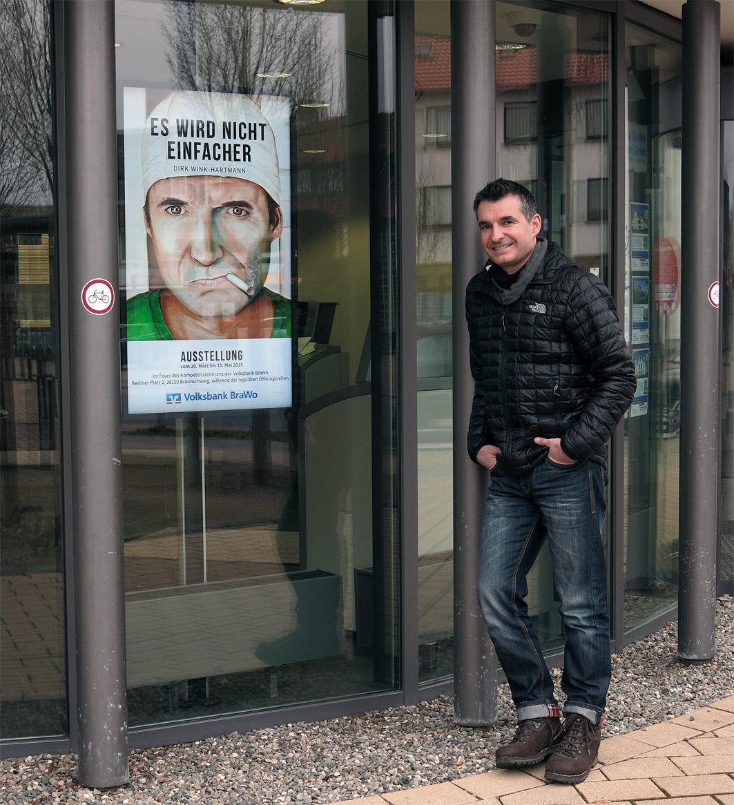 ES WIRD NICHT EINFACHER - Dirk Wink-Hartmann Display Volksbank