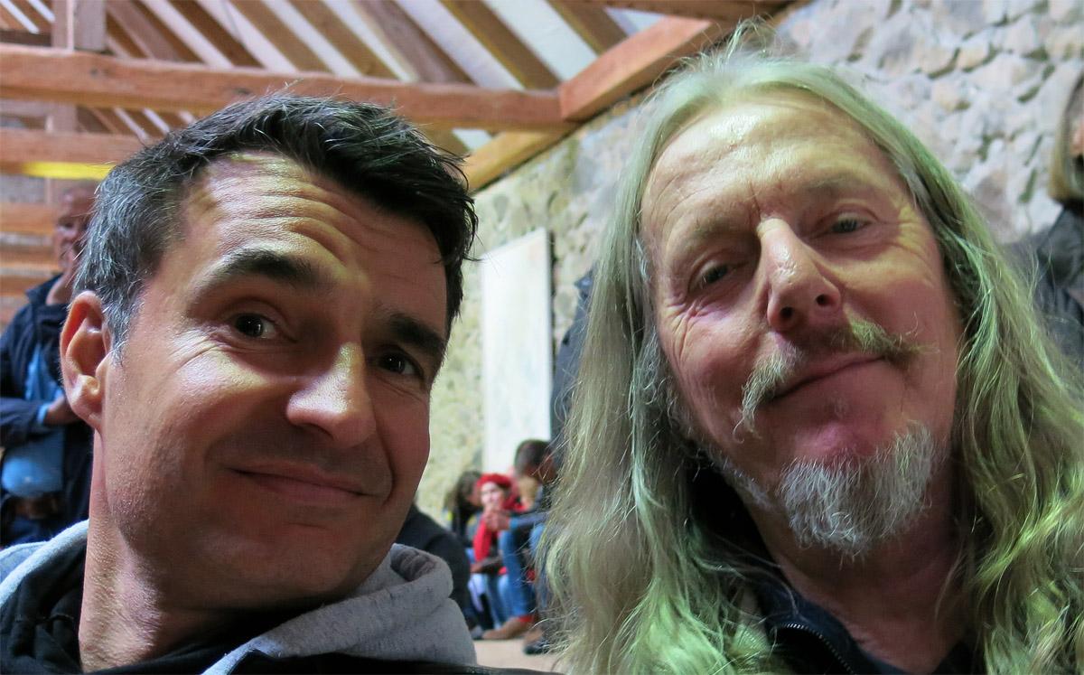 Dirk Wink-Hartmann und Wolfgang Beltracchi 2015